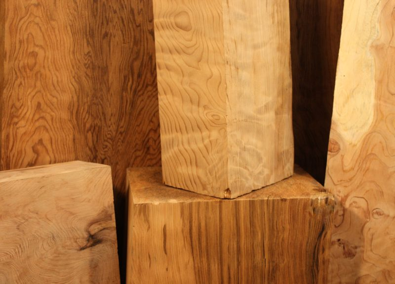 Curly Redwood Turning blocks