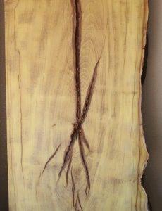 Mulberry Lumber Live Edge Slab, SL001