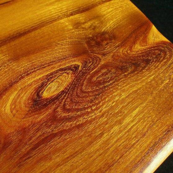 Mulberry slab live edge, finished by Juvet Artistic Woodwork