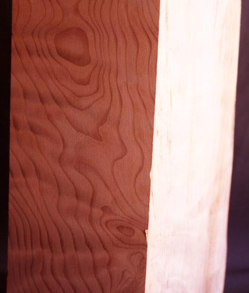 Curly Redwood Turning Block, JM28