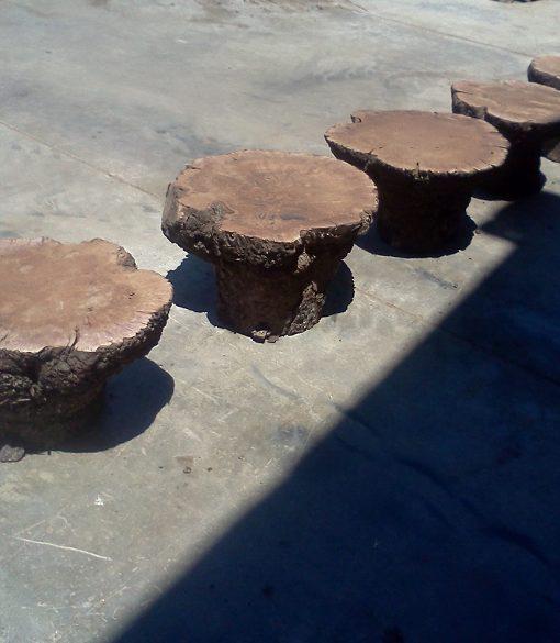 Claro Walnut Burl Table Base, CHL1700