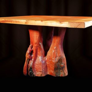 Redwood Table base, (top sold separately), T102A