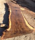 California Claro Walnut Live Edge Slab, FW1601