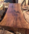 Claro Walnut Live Edge Slab, FW1605