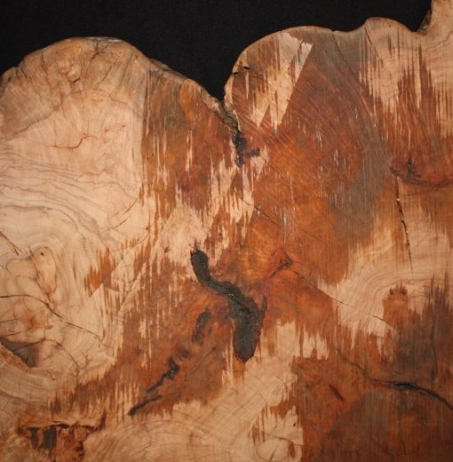 Cherry Wood Burl Round, FW121378