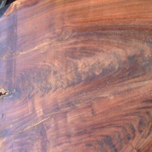 Claro Walnut Crotch Live Edge Slab, RS1738