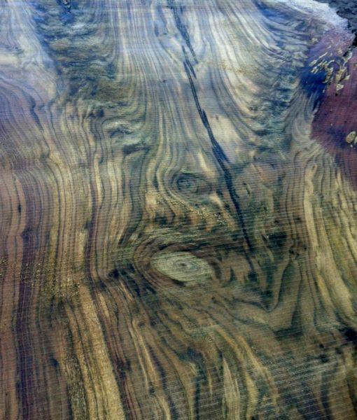 Claro Walnut Natural Edge Slab, FW1975