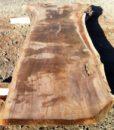 Claro Walnut Natural Edge Slab, FW1962