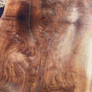 Claro Walnut Natural Edge Slab, FW1961