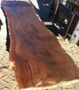 Claro Walnut Natural Edge Slab, FW1959