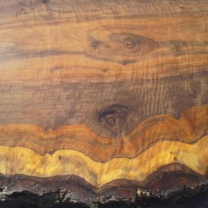 Bastogne Walnut Live Edge Slab, FW1869