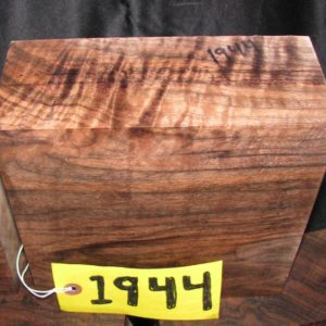 Claro Walnut Burl Fancy Turning Block, TB1944
