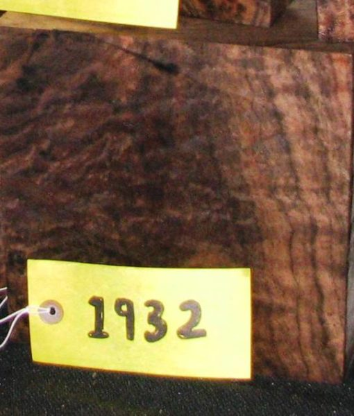 Claro Walnut Burl Fancy Turning Block, TB1932