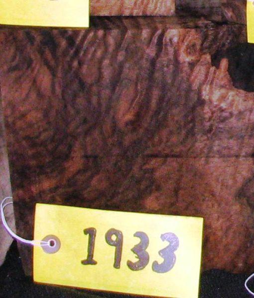 Claro Walnut Burl Super Fancy Turning Block, TB1933
