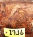 Claro Walnut Burl Super Fancy Turning Block, TB1936