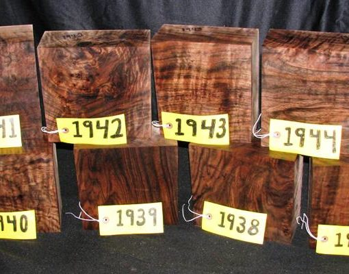 Claro Walnut Burl Super Fancy Turning Block, TB1937