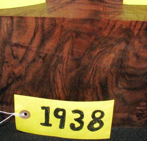 Claro Walnut Fancy Turning Block, TB1938