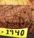 Claro Walnut Burl Fancy Turning Block, TB1940