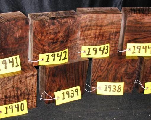 Claro Walnut Burl Super Fancy Turning Block, TB1941