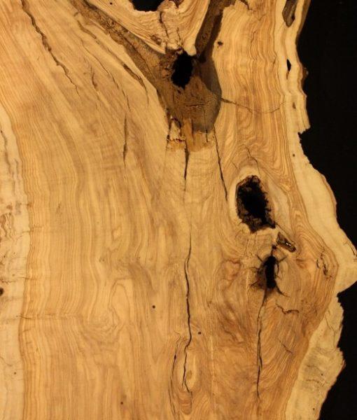 California Olive Wood Live Edge Slab, KC5152
