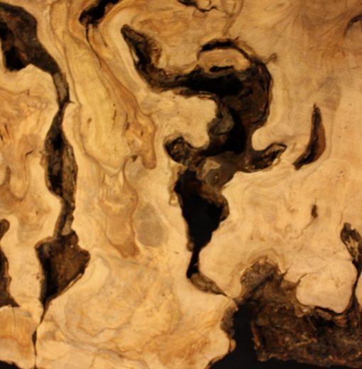 California Olive Wood Live Edge Slab, KC5153