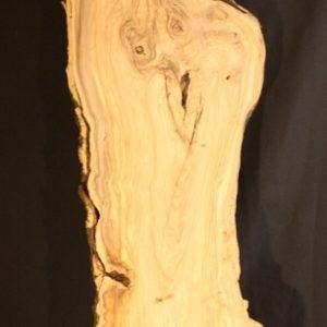 California Olive Wood Live Edge Slab, KC5154