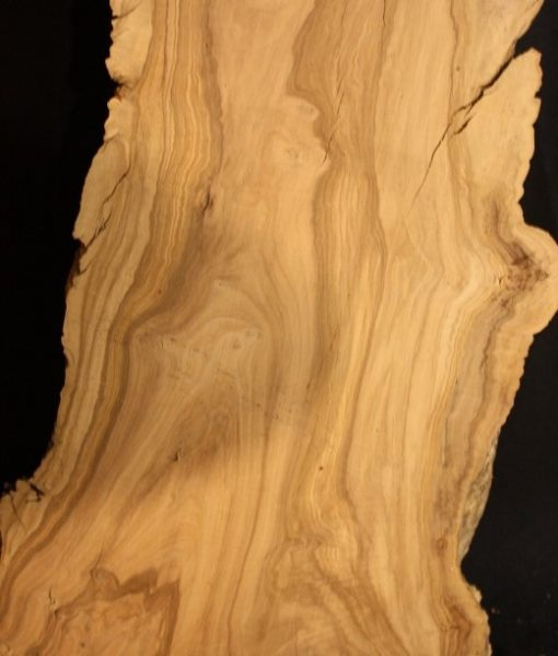 California Olive Wood Live Edge Slab, KC5158