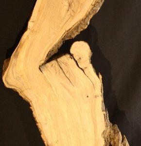 California Olive Wood Natural Edge Slab, KC5159