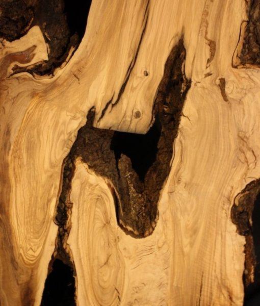 California Olive Wood Natural Edge Slab, KC51510