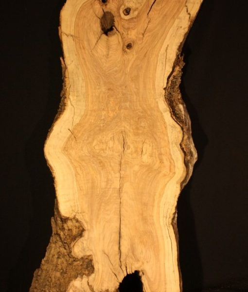 California Olive Wood Live Edge Slab, KC51511