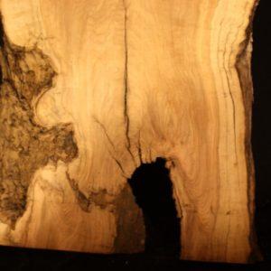 California Olive Wood Live Edge Slab, KC51511