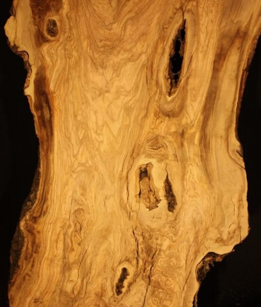 California Olive Wood Live Edge Slab, KC51518