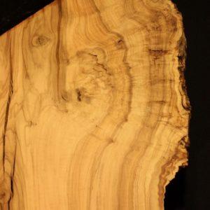California Olive Wood Live Edge Slab, KC51528