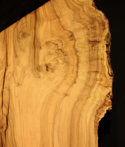 California Olive Wood Live Edge Slab, KC51528