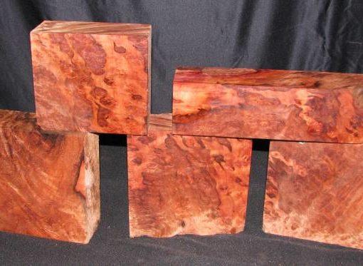 Redwood Burl Fancy Turning Block, TB1945