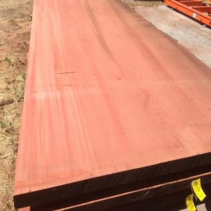 Giant Sequoia Redwood Slab, One Live Edge, FW1662