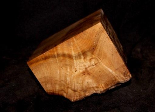 Myrtle Wood Fancy Burl Turning Block, SJMY140