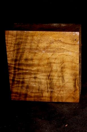 Myrtle Wood Spalted Turning Block, SJMY123