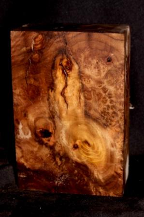 Myrtle Wood Fancy Spalted Turning Blank, SJMY146