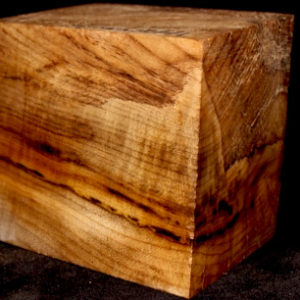 Myrtle Wood Turning Block, SJMY121