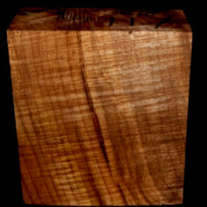 Myrtle Wood Turning Block, SJMY117