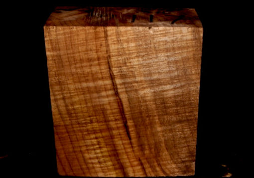 Myrtle Wood Turning Block, SJMY117