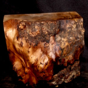 Myrtle Wood Turning Block, SJMY122