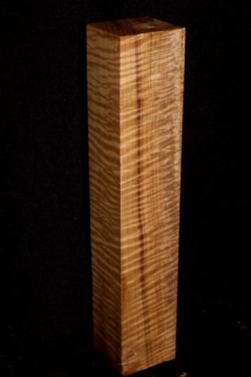 Myrtle Wood Super Fancy Fiddleback Flute Blank, SJMY115