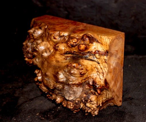 Madrone Burl Turning Block, SJMA115