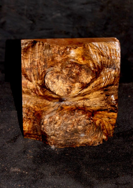 Big Leaf Maple Burl Turning Blank, SJMA118