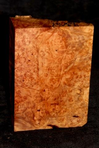 Big Leaf Maple Burl Turning Blank, SJMA121