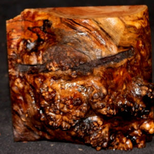 Big Leaf Maple Burl Turning Block, SJMA114