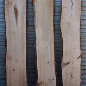 Pecan Lumber Natural Edge Set of Three, KHSET-A