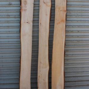 Pecan Lumber Live Edge Set of Three, KHSET-C